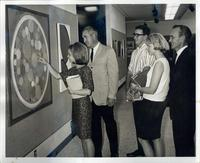 Art students and faculty 1960s
